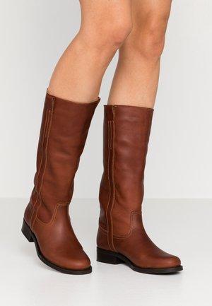KAREN - Boots - brown