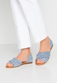 Apple of Eden - CANDY - Sandals - light blue - 0
