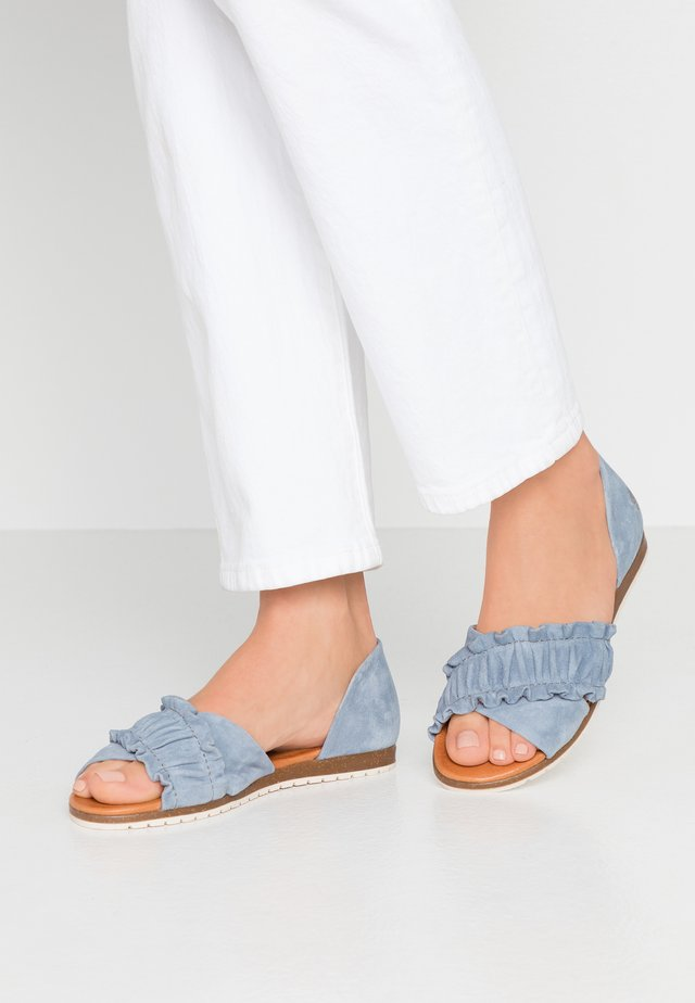CANDY - Sandales - light blue