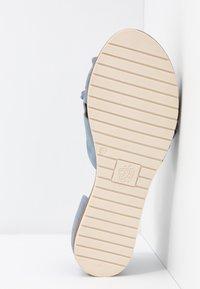 Apple of Eden - CANDY - Sandals - light blue - 6