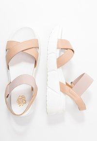 Apple of Eden - ROLLY - Platform sandals - nude - 3