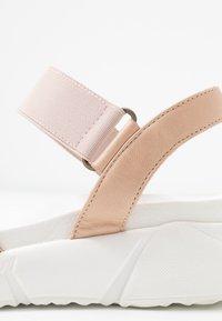 Apple of Eden - ROLLY - Platform sandals - nude - 2