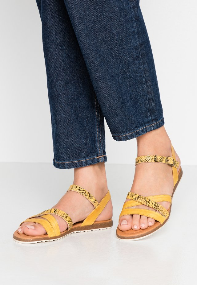 LAUREEN - Sandaler - yellow