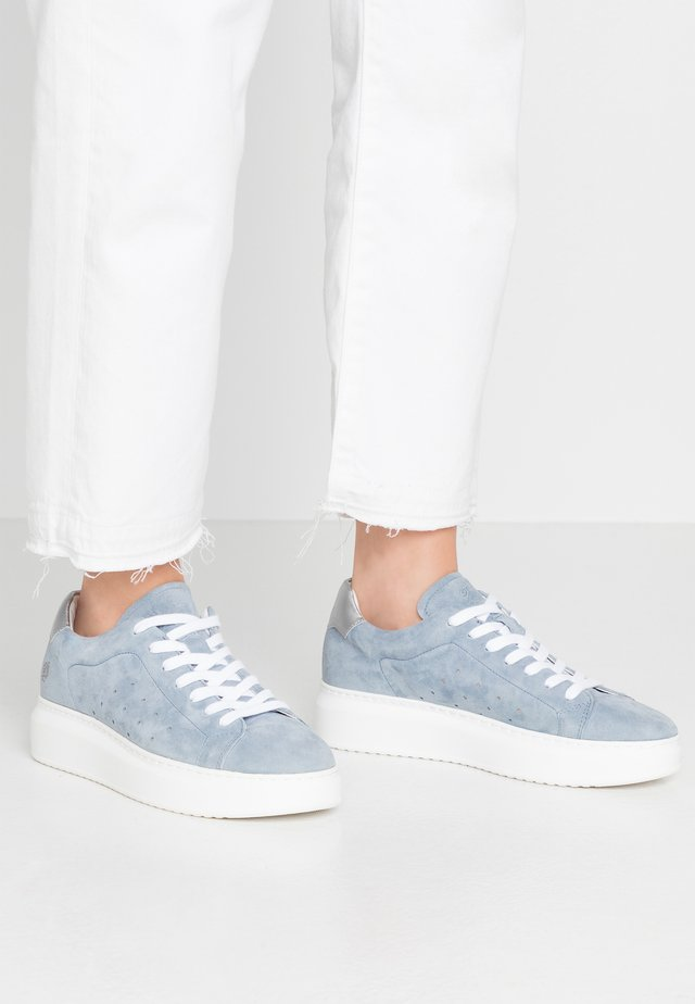 DANIELA - Trainers - light blue/silver