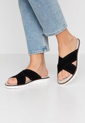 VINA - Pantofle - black