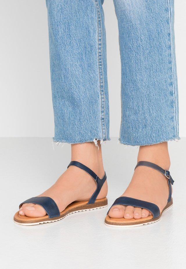 LARA - Sandaalit nilkkaremmillä - dark blue