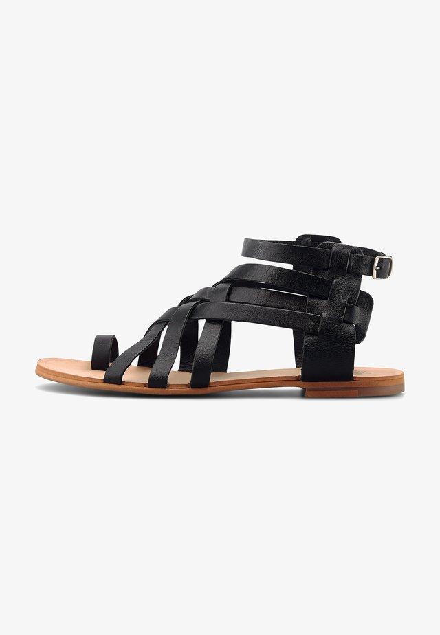 CORINA - Sandals - mittelbraun