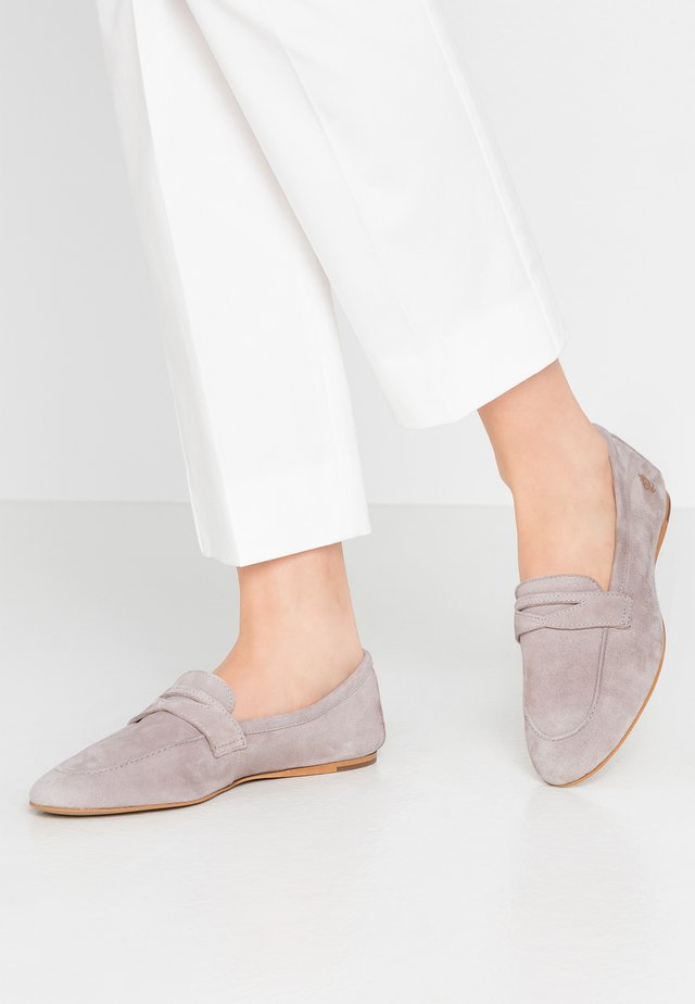 ZOE - Slippers - light grey