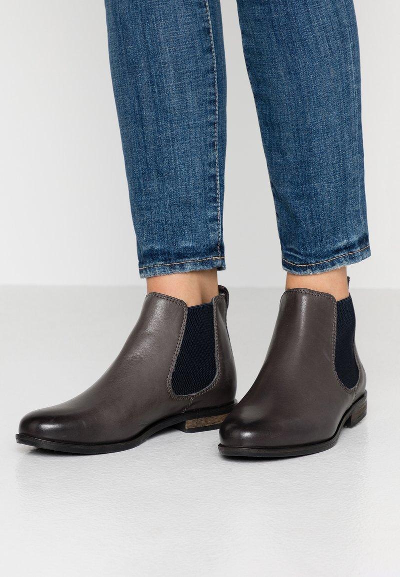 Apple of Eden - MANON - Ankle Boot - dark grey