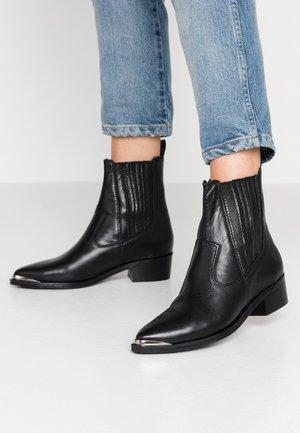 WHITNEY - Kotníkové boty - black