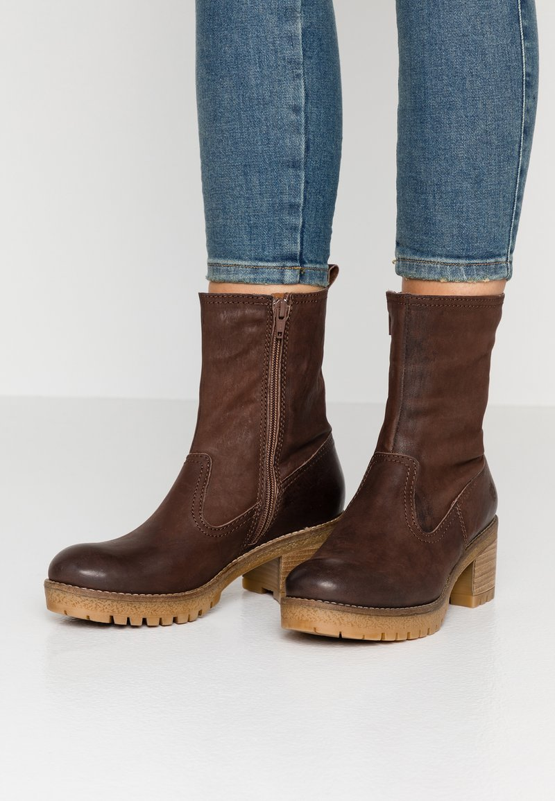 Apple of Eden - ANNE - Classic ankle boots - dark brown