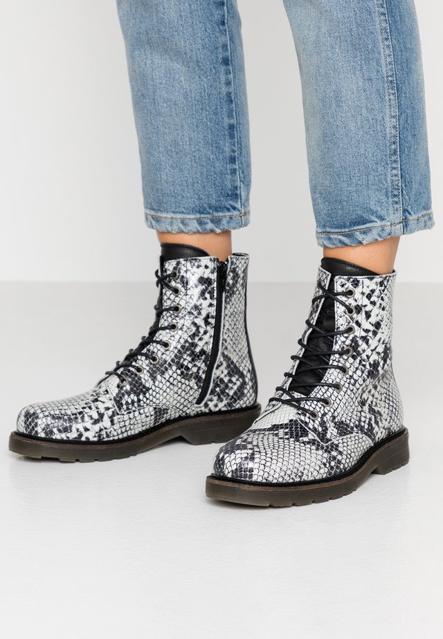 SUN - Bottines à lacets - offwhite