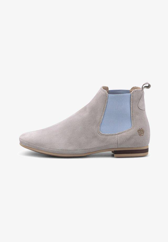LARISSA - Classic ankle boots - hellgrau