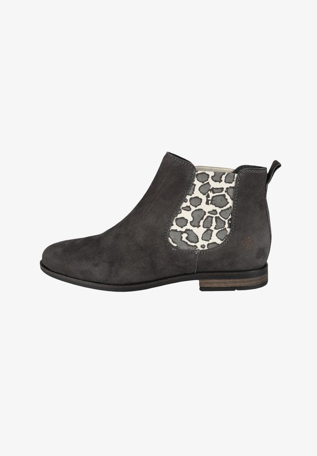 MANON - Boots à talons - dk grey