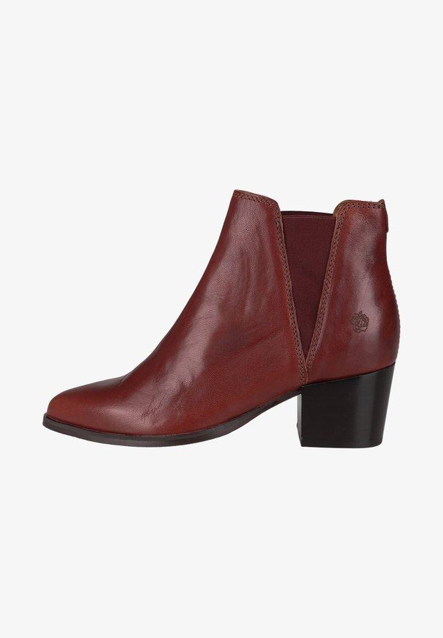 WALENSA - Boots à talons - brick