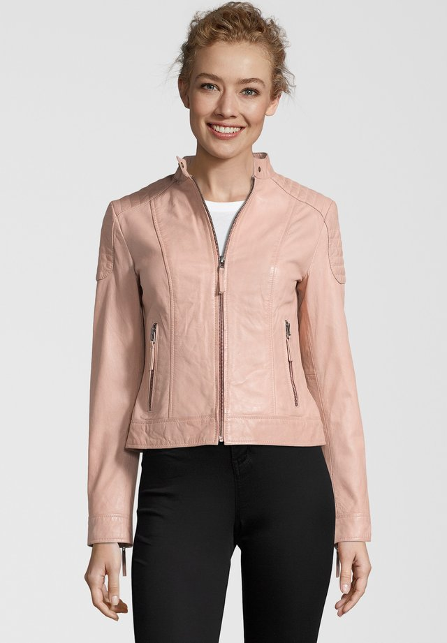 APPLE OF EDEN LEDERJACKE CANDY - Lederjacke - rose