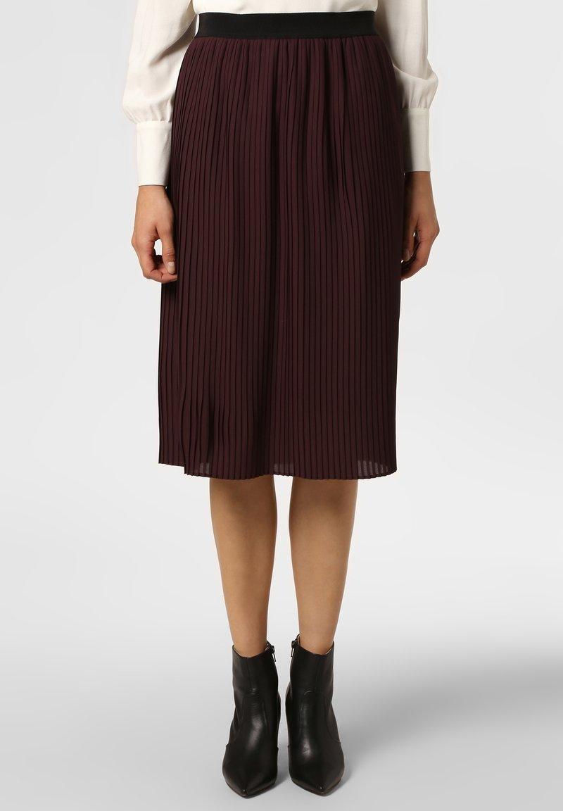 Apriori - Pleated skirt - eggplant