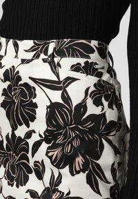 Apriori - Pencil skirt - ecru/black - 3