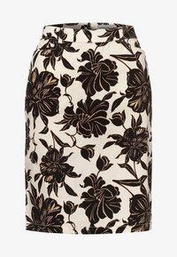 Apriori - Pencil skirt - ecru/black - 4