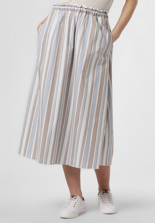 A-line skirt - hellblau sand