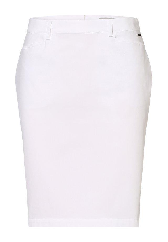 Pencil skirt - weiß
