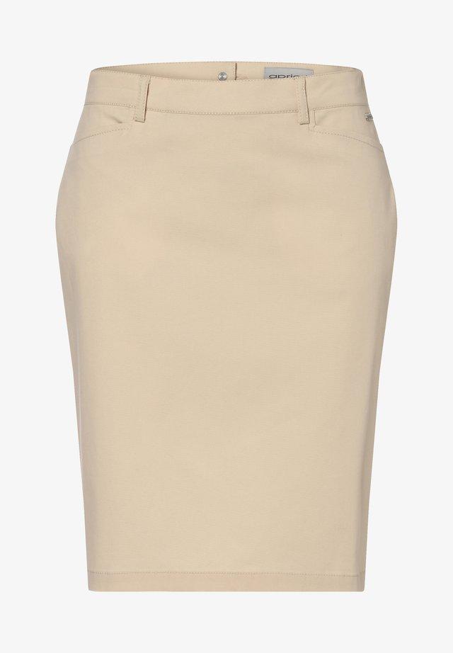 Pencil skirt - sand