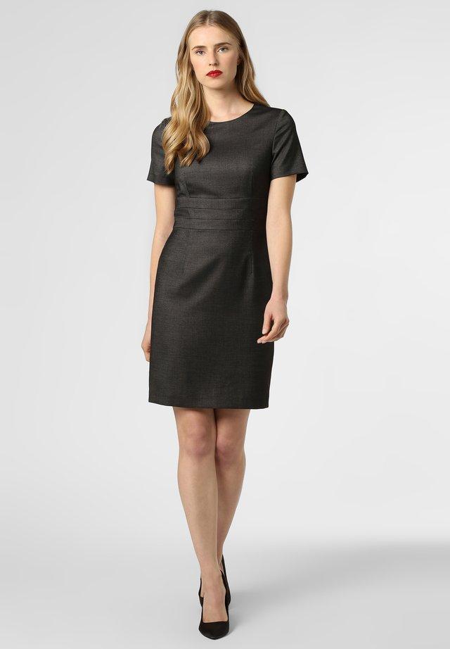 Shift dress - anthrazit schwarz