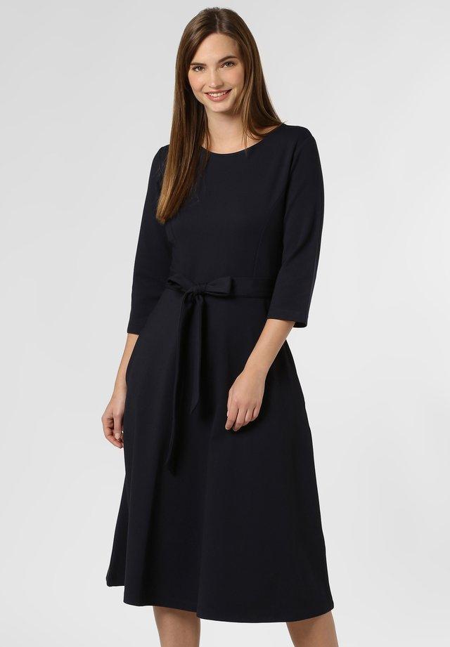 CLARA - Jersey dress - marine