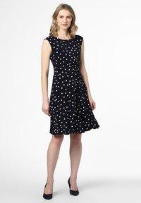 Apriori - Jersey dress - marine - 0