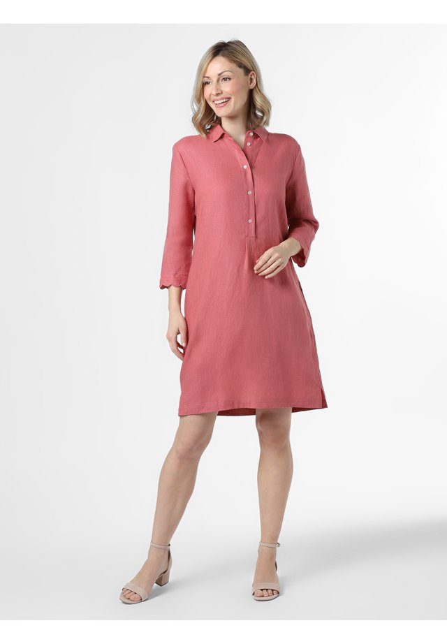 Shirt dress - rosenholz