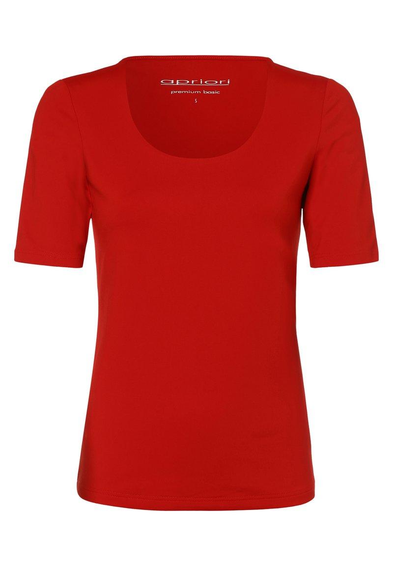 Apriori - APRIORI - Basic T-shirt - rot