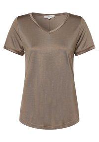 Apriori - Basic T-shirt - taupe - 0