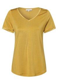 Apriori - Basic T-shirt - gelb - 0