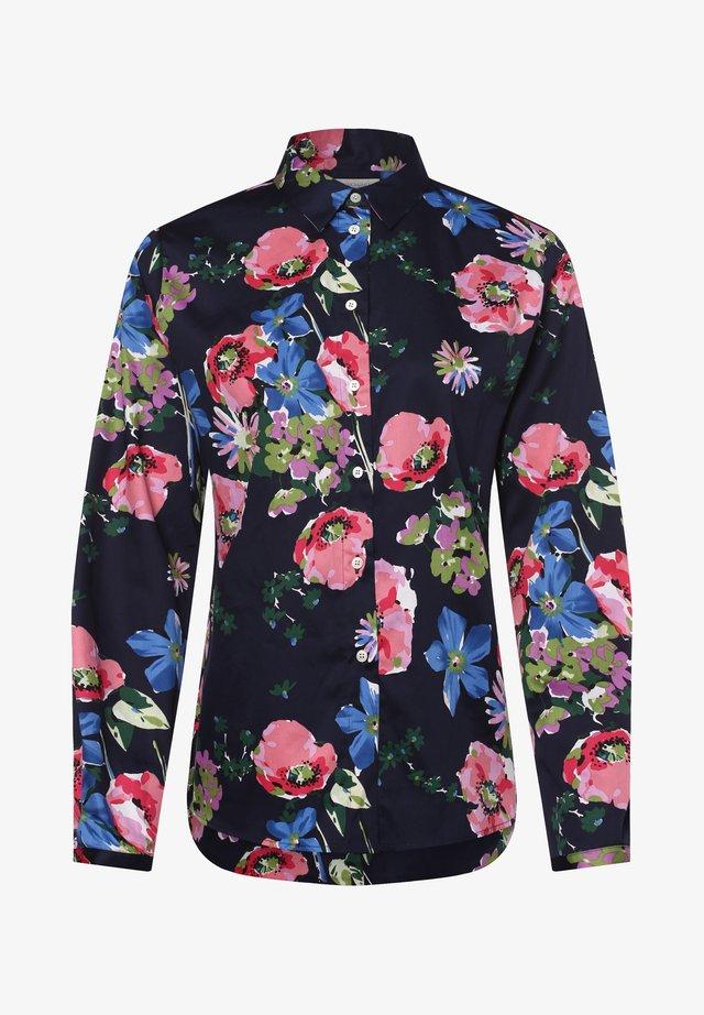 Button-down blouse - marine rosa