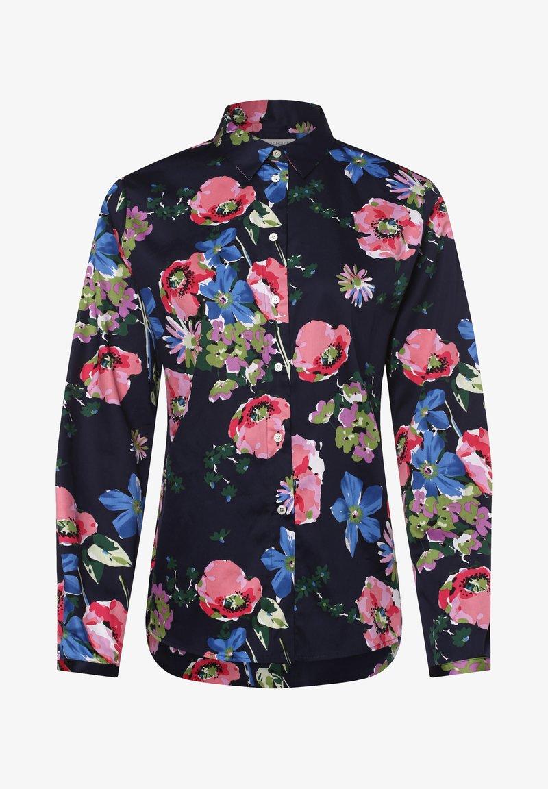Apriori - Button-down blouse - marine rosa