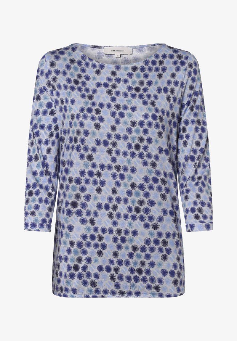 Apriori - Long sleeved top - blau