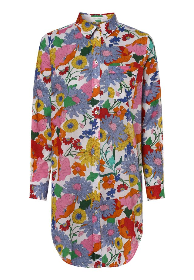 APRIORI  - Button-down blouse - weiß mehrfarbig