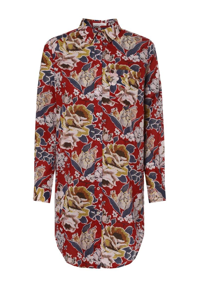 Apriori - APRIORI  - Button-down blouse - rot weiß