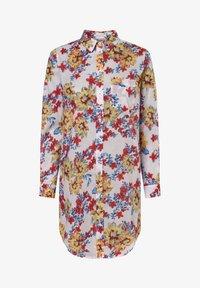 Apriori - APRIORI  - Button-down blouse - weiß gelb - 0