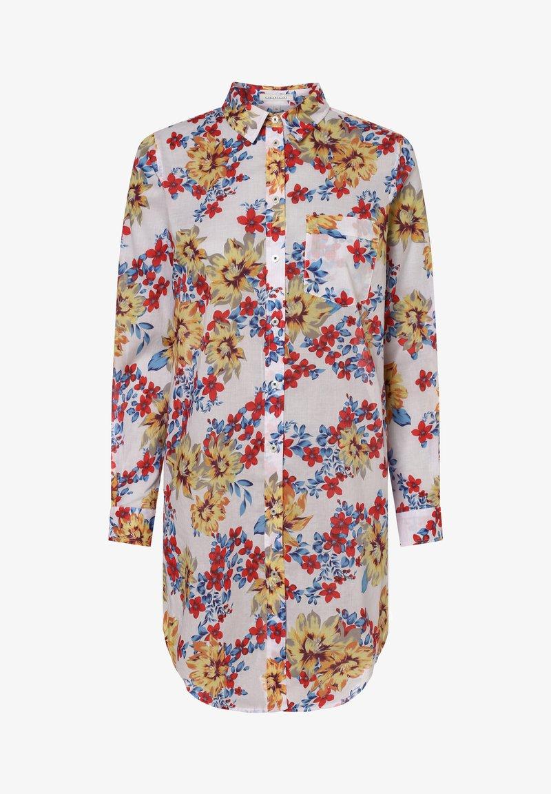 Apriori - APRIORI  - Button-down blouse - weiß gelb
