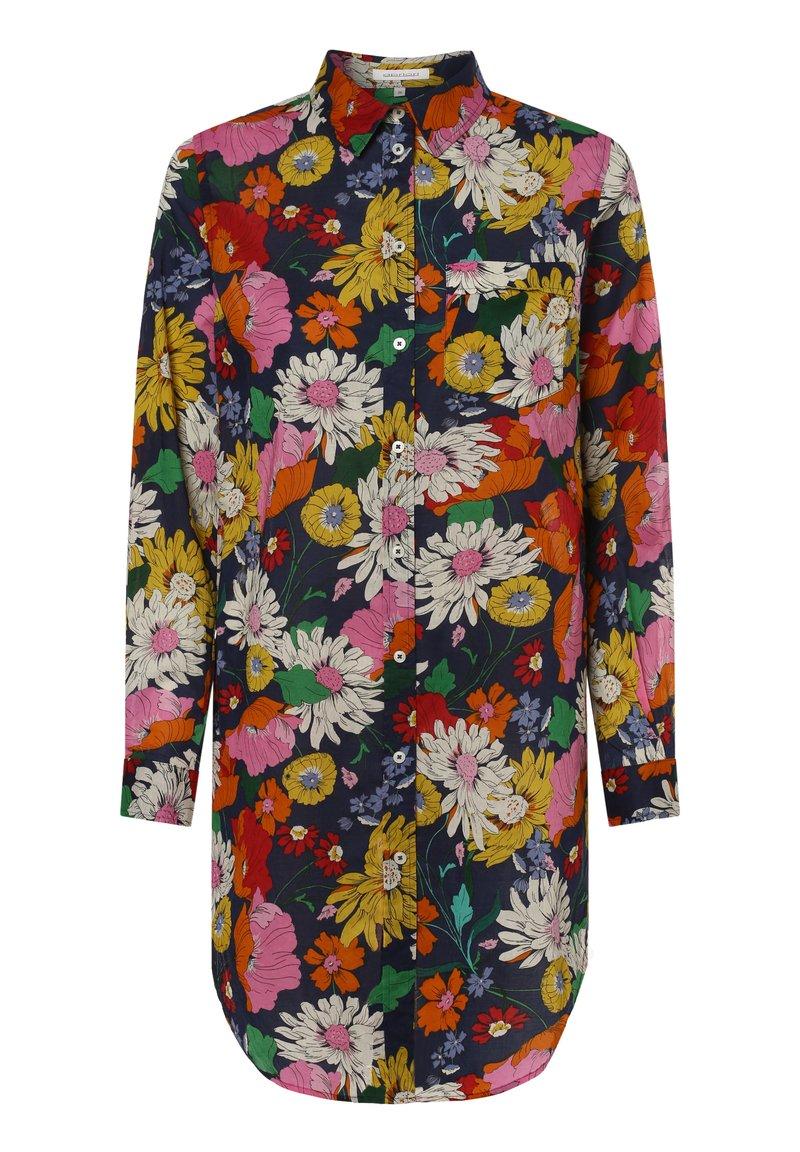 Apriori - APRIORI  - Button-down blouse - marine mehrfarbig