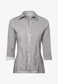 Apriori - Button-down blouse - grau - 0