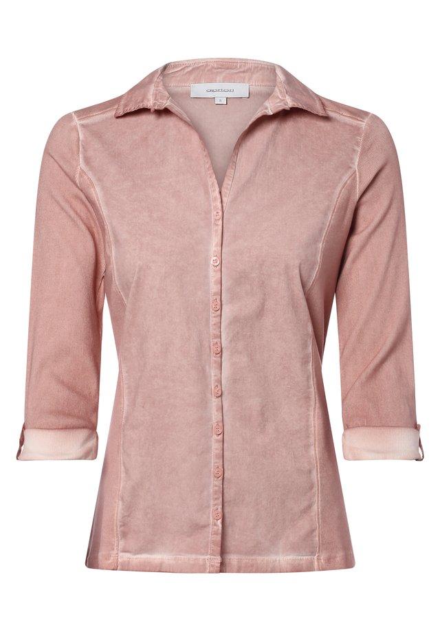 Button-down blouse - rosenholz