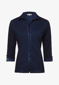 Apriori - Button-down blouse - marine - 0