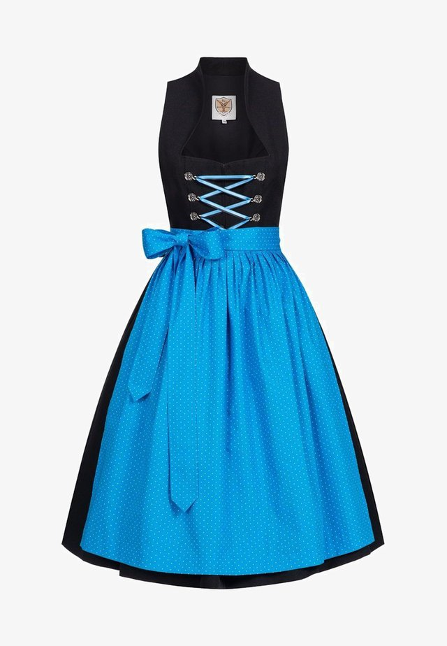 Dirndl - black/blue