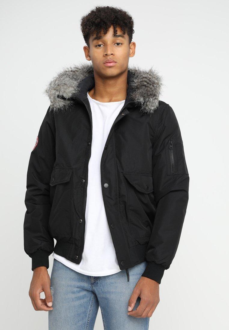 ALCOTT - GIUBBOTTI - Light jacket - black