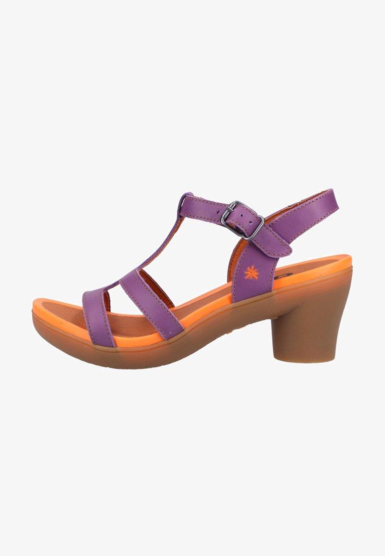 Art - Sandals - purple
