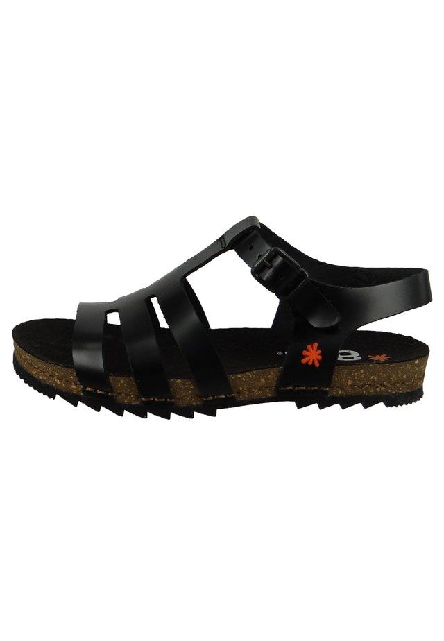 CRETA - Sandals - black