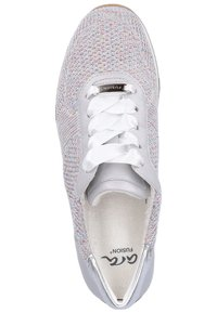 ara - Baskets basses - candy-white/sasso/ silver - 1