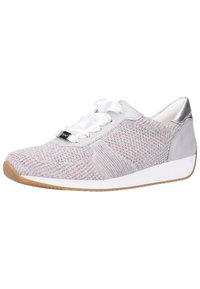 ara - Baskets basses - candy-white/sasso/ silver - 2